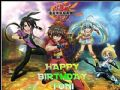 A4 Bakugan Personalised Edible Icing or Wafer Cake Top Topper